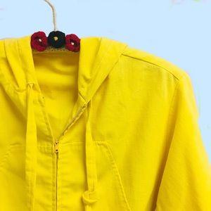 Vintage mod hoodie windbreaker XL